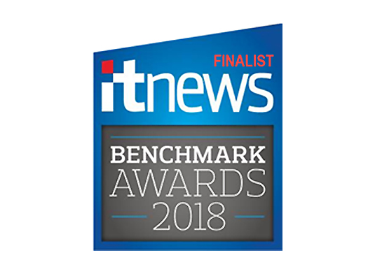ITNews Benchmark awards 2018 finalist